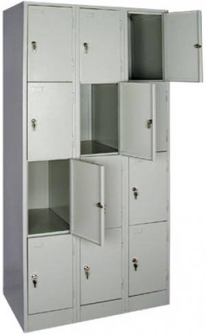 Шкаф металлический для сумок ШРМ - 312 купить на выгодных условиях в Белгороде