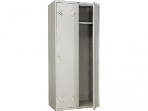 Шкаф металлический для одежды ПРАКТИК LS(LE)-21-80 купить на выгодных условиях в Белгороде