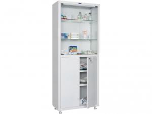 Металлический шкаф медицинский HILFE MD 2 1670/SG купить на выгодных условиях в Белгороде