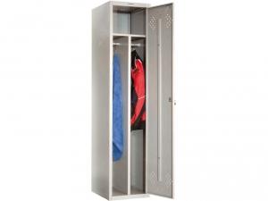 Шкаф металлический для одежды ПРАКТИК LS(LE)-11-40D купить на выгодных условиях в Белгороде