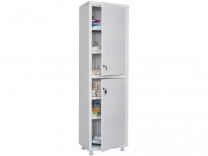 Металлический шкаф медицинский HILFE MD 1 1650/SS купить на выгодных условиях в Белгороде