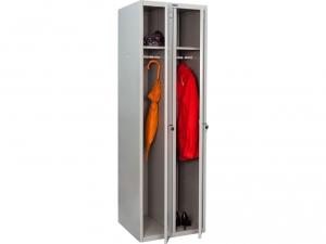 Шкаф металлический для одежды ПРАКТИК LS(LE)-21 купить на выгодных условиях в Белгороде
