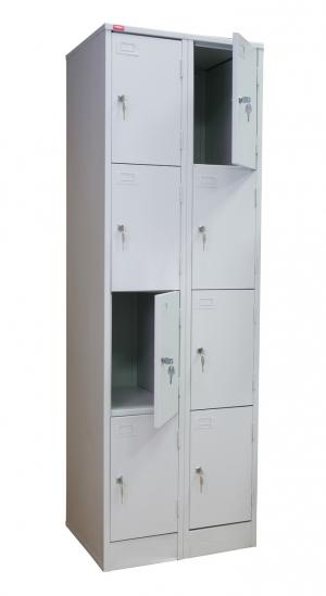 Шкаф металлический для сумок ШРМ - 28 купить на выгодных условиях в Белгороде