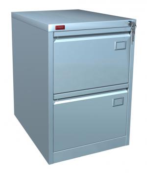 Шкаф металлический картотечный КР - 2 купить на выгодных условиях в Белгороде