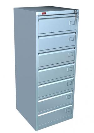 Шкаф металлический картотечный КР - 7 купить на выгодных условиях в Белгороде