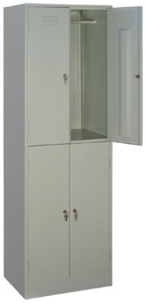 Шкаф металлический для одежды ШРМ - 24 купить на выгодных условиях в Белгороде