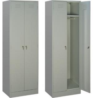 Шкаф металлический для одежды ШРМ - 22 купить на выгодных условиях в Белгороде