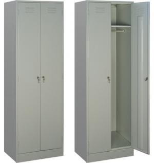 Шкаф металлический для одежды ШРМ - 22/800 купить на выгодных условиях в Белгороде