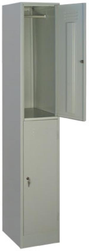 Шкаф металлический для одежды ШРМ - 12 купить на выгодных условиях в Белгороде