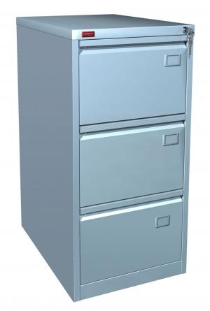 Шкаф металлический картотечный КР - 3 купить на выгодных условиях в Белгороде