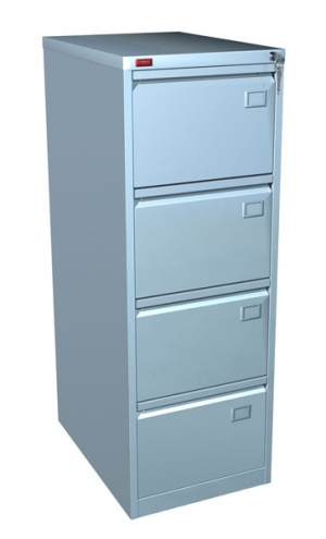 Шкаф металлический картотечный КР - 4 купить на выгодных условиях в Белгороде