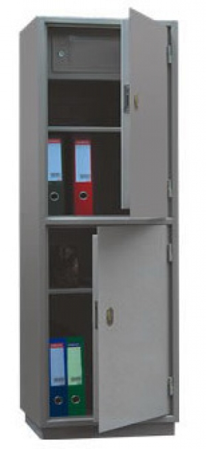 Шкаф металлический для хранения документов КБ - 032т / КБС - 032т купить на выгодных условиях в Белгороде