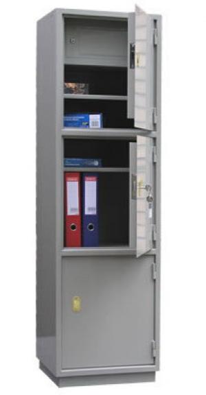 Шкаф металлический для хранения документов КБ - 033т / КБС - 033т купить на выгодных условиях в Белгороде
