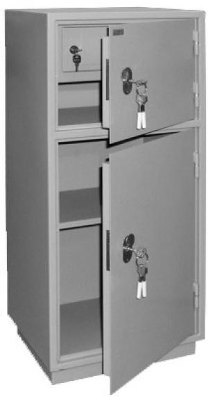 Шкаф металлический для хранения документов КБ - 042т / КБС - 042т купить на выгодных условиях в Белгороде