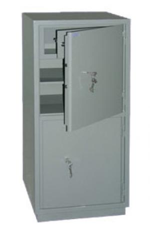 Шкаф металлический бухгалтерский КС-2Т купить на выгодных условиях в Белгороде