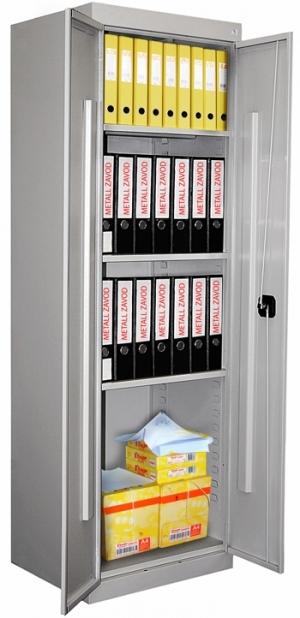 Шкаф металлический архивный ШХА-850 купить на выгодных условиях в Белгороде
