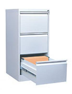 Шкаф металлический картотечный ШК-3 (3 замка) купить на выгодных условиях в Белгороде