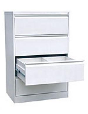 Шкаф металлический картотечный ШК-4-2 купить на выгодных условиях в Белгороде