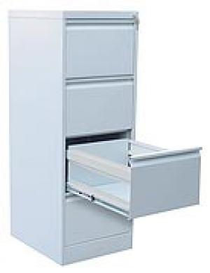 Шкаф металлический картотечный ШК-4 (4 замка) купить на выгодных условиях в Белгороде