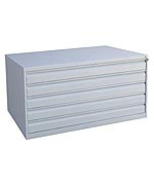 Шкаф металлический картотечный ШК-5-А0 купить на выгодных условиях в Белгороде