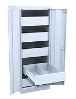 Шкаф металлический картотечный ШК-5-Д2 купить на выгодных условиях в Белгороде