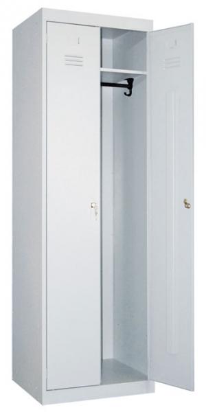 Шкаф металлический для одежды ШР-22-600 купить на выгодных условиях в Белгороде
