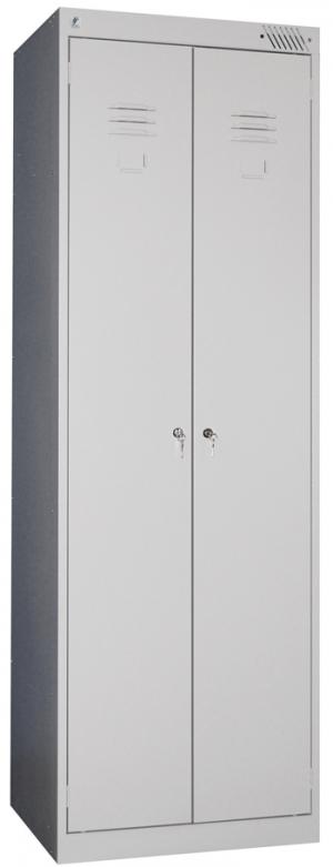 Шкаф металлический для одежды ШРК-22-600 купить на выгодных условиях в Белгороде