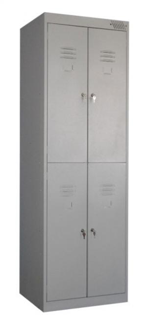 Шкаф металлический для одежды ШРK-24-600 купить на выгодных условиях в Белгороде