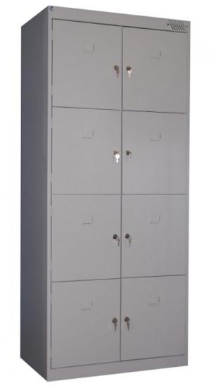 Шкаф металлический для сумок ШРК-28-800 купить на выгодных условиях в Белгороде