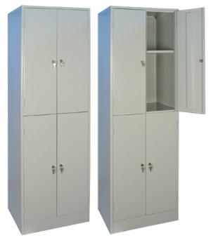 Шкаф металлический для хранения документов ШРМ - 24.0 купить на выгодных условиях в Белгороде