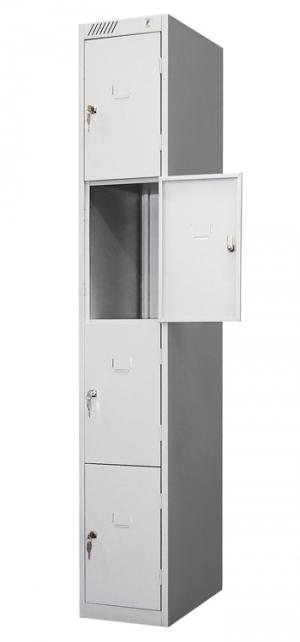 Шкаф металлический для сумок ШРС-14-300 купить на выгодных условиях в Белгороде