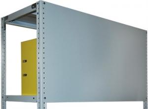 Стенка усиленная 100\70 для металлического стеллажа купить на выгодных условиях в Белгороде