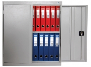 Шкаф металлический архивный ШХА/2-900 купить на выгодных условиях в Белгороде
